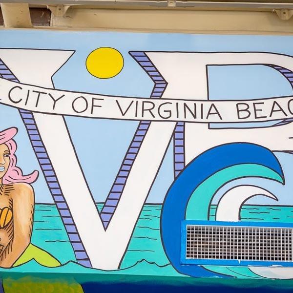 VB Logo in Mural