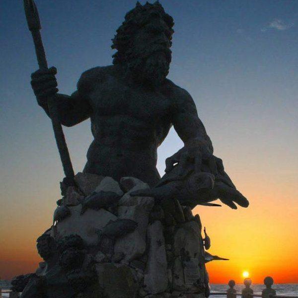 Sunrise with Neptune