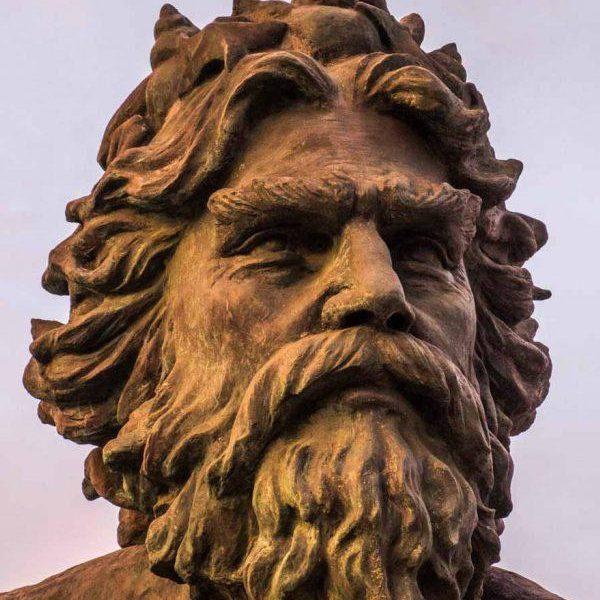 King Neptune Face